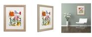 "Trademark Global Color Bakery 'Printemps' Matted Framed Art - 16"" x 0.5"" x 20"""