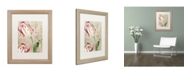 """Trademark Global Color Bakery 'Tulips' Matted Framed Art - 16"""" x 0.5"""" x 20"""""""