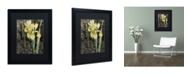 """Trademark Global Color Bakery 'Ode to Yellow Flowers' Matted Framed Art - 16"""" x 20"""" x 0.5"""""""