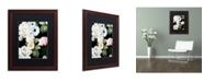 "Trademark Global Color Bakery 'Wallflowers' Matted Framed Art - 16"" x 0.5"" x 20"""