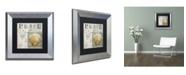 "Trademark Global Color Bakery 'Beach Book I' Matted Framed Art - 11"" x 0.5"" x 11"""