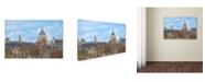 "Trademark Global Cora Niele 'Pantheon' Canvas Art - 19"" x 12"" x 2"""