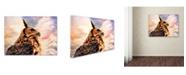 "Trademark Global Jai Johnson 'Majestic Great Horned Owl' Canvas Art - 47"" x 35"" x 2"""