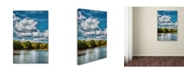 """Trademark Global Jai Johnson 'Clouds Over The River Cove' Canvas Art - 24"""" x 16"""" x 2"""""""