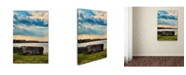 "Trademark Global Jai Johnson 'River Rock' Canvas Art - 47"" x 30"" x 2"""