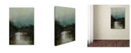 """Trademark Global Jai Johnson 'Cold Day At The River' Canvas Art - 19"""" x 12"""" x 2"""""""