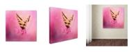 "Trademark Global Jai Johnson 'Butterfly On The Azaleas' Canvas Art - 24"" x 24"" x 2"""