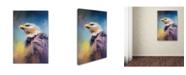 "Trademark Global Jai Johnson 'Eagle On Guard' Canvas Art - 19"" x 12"" x 2"""