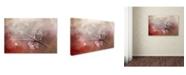 "Trademark Global Jai Johnson 'Siskin In The Garden' Canvas Art - 19"" x 12"" x 2"""