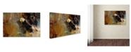 """Trademark Global Jai Johnson 'Eagle Dance' Canvas Art - 19"""" x 12"""" x 2"""""""