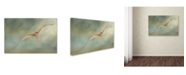 "Trademark Global Jai Johnson 'A Day At The Beach 1' Canvas Art - 24"" x 16"" x 2"""