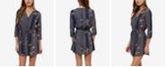 O'Neill Juniors' Printed Drawstring Dress