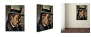 "Trademark Global Ilmari 'Portrait Of Artist Karnoski' Canvas Art - 32"" x 24"" x 2"""