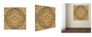 "Trademark Global Cora Niele 'Copper Metalwork' Canvas Art - 24"" x 24"" x 2"""