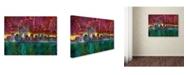"Trademark Global Dean Russo 'Skyline' Canvas Art - 32"" x 24"" x 2"""