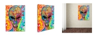 "Trademark Global Dean Russo 'Alien - Far Out' Canvas Art - 24"" x 18"" x 2"""