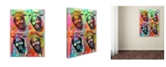 """Trademark Global Dean Russo 'Marvin Gaye' Canvas Art - 47""""H x 35""""L"""