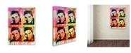 "Trademark Global Dean Russo 'Elvis' Canvas Art - 24"" x 18"" x 2"""