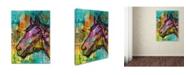 """Trademark Global Dean Russo 'Horsepower' Canvas Art - 24"""" x 18"""" x 2"""""""