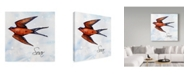 "Trademark Global Irina Trzaskos Studio 'Bird Inspiration II' Canvas Art - 35"" x 35"" x 2"""