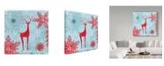 "Trademark Global Irina Trzaskos Studio 'Winter II' Canvas Art - 24"" x 24"" x 2"""