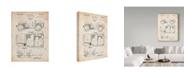"Trademark Global Cole Borders 'Vintage Car' Canvas Art - 47"" x 35"" x 2"""