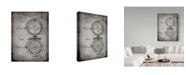 "Trademark Global Cole Borders 'Waffle Iron' Canvas Art - 24"" x 18"" x 2"""