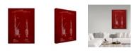 "Trademark Innovations Cole Borders 'Fishing Rod' Canvas Art - 19"" x 14"" x 2"""