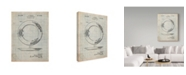 "Trademark Global Cole Borders 'Nautical Plate' Canvas Art - 32"" x 24"" x 2"""