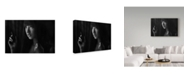 "Trademark Global Ivan Lee 'Deacy' Canvas Art - 19"" x 2"" x 12"""
