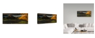 "Trademark Global Cristian Lee 'Fundatura Ponorului Mountains' Canvas Art - 47"" x 2"" x 20"""