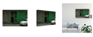 "Trademark Global Inge Schuster 'White Boot' Canvas Art - 32"" x 2"" x 22"""