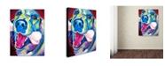 "Trademark Global DawgArt 'My Favorite Bone Reboot' Canvas Art - 18"" x 24"" x 2"""