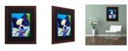 "Trademark Global DawgArt 'Esso Gomez' Matted Framed Art - 16"" x 20"" x 0.5"""
