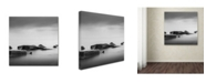 "Trademark Global Dave MacVicar 'Calm' Canvas Art - 35"" x 35"" x 2"""