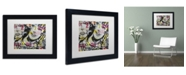 "Trademark Global Dan Monteavaro 'Apologies' Matted Framed Art - 11"" x 14"" x 0.5"""