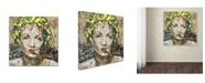 "Trademark Global Ines Kouidis 'Augenblick Mal' Canvas Art - 18"" x 18"" x 2"""