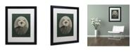 "Trademark Global J Hovenstine Studios 'Cat Series #1' Matted Framed Art - 16"" x 20"" x 0.5"""