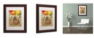 "Trademark Global J Hovenstine Studios 'Mice Series #2.5' Matted Framed Art - 14"" x 11"" x 0.5"""