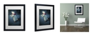 "Trademark Global J Hovenstine Studios 'By The Light Of The Moon' Matted Framed Art - 16"" x 20"" x 0.5"""