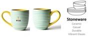 Coton Colors by Laura Johnson Mint I Love My Dog Mug