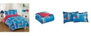 Gizmo Kids City Streets 3-Piece Comforter Set, Full