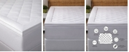 """Allied Home Hotel Luxury Diamond Quilted 3"""" Down Alternative Mattress Pad, King"""