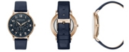 Kenneth Cole New York Men's Leather Strap with Multifunction Dial, 42MM