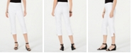 JM Collection Double-Ring Hem Capri Pants, Created for Macy's