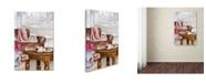 "Trademark Global The Macneil Studio 'Coffee Shop 2' Canvas Art - 19"" x 12"" x 2"""