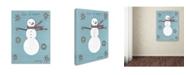 "Trademark Global Tammy Kushnir 'Let It Snow' Canvas Art - 19"" x 14"" x 2"""