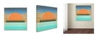 "Trademark Global Tammy Kushnir 'The Scenic View 2' Canvas Art - 24"" x 24"" x 2"""