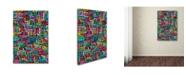 """Trademark Global Miguel Balbas 'Maze 3' Canvas Art - 32"""" x 22"""" x 2"""""""
