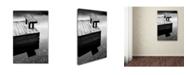 "Trademark Global The Lieberman Collection 'Lake' Canvas Art - 47"" x 30"" x 2"""